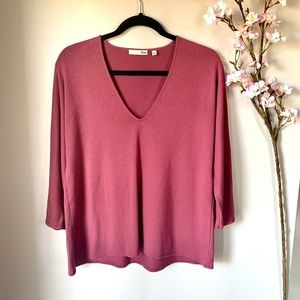 ARITZIA / WILFRED FREE / ANETA LONG SLEEVE TOP